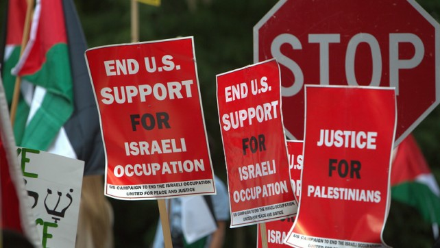 Airstrikes on Gaza Infuriate Supporters of Palestine; Days of Protest Continue at Israeli Embassy