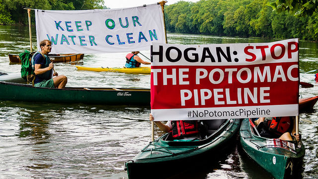 TransCanada Pipeline Has Water Protectors Worried about Potomac River